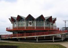 wild billys circus story (djwhelan) Tags: spiral restaurant newjersey ramp asburypark howardjohnsons howardjohnson hojo howardjohnsons