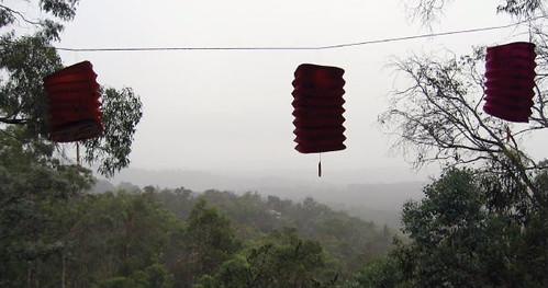 rain lanterns