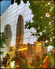 New York reflections... (Sherrianne100) Tags: reflections september11memorial september11 bigapple newyorkcity