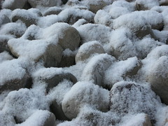 Snow on Rocks in BR