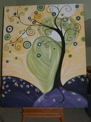 tree with childhood circles