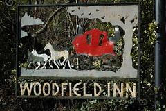 Sign, Woodfield Inn