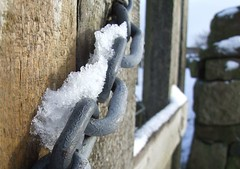 No Entry (andrewlee1967) Tags: uk england macro ice wall gate bokeh chain andrewlee instantfave andrewlee1967 anawesomeshot andylee1967 focusman5