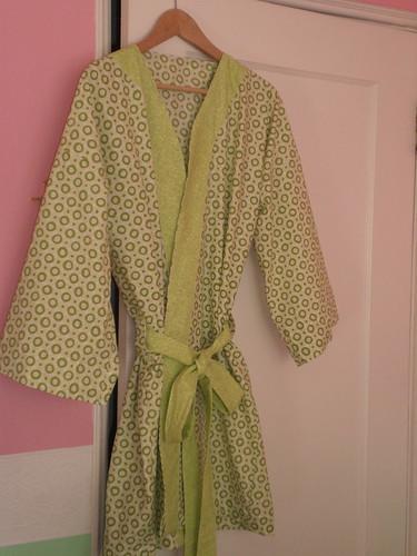 kimono robe (Amy Butler pattern)