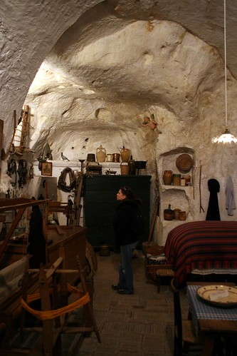 A Sasso Museum - up to twelve people lived in one room