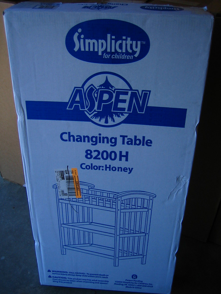 Changing Table Box