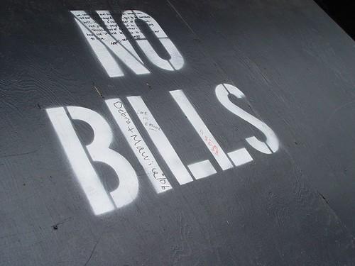 no bills