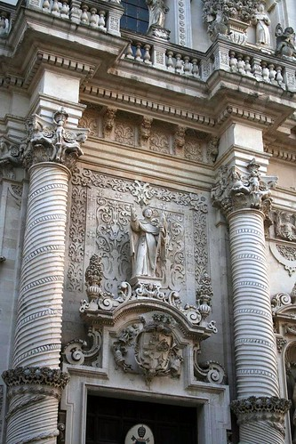 Detail of San Giovanni Battista, Lecce