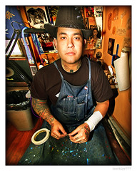 Paco Excel - Tattoo Studio San Jose (merkley???) Tags: sanfrancisco portrait tattoo photoshop portraits saturated artist sanjose tattoos portraiture artists saturation safe paco retouched airbrush excel tattoartist pacoexcel