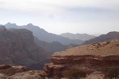 View of mountains from Petra (10b travelling) Tags: mountain mountains berg ctb landscape high montana asia asien altitude islam petra middleeast peak jordan ten asie heights carsten jordanien brink 10b cmtb tenbrink