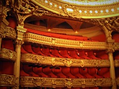 Dream night at the Opera (bekahpaige) Tags: red paris france gold opera europe seats operahouse luxury operagarnier palaisgarnier grandsalle ysplix