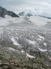 (15Jul05 e) Looking up Glacier du Tour - S flank of Aug. du Tour on left (Lee Drage) Tags: 2005 hauteroute