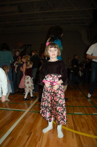 Grace  at the Tuscany Schoo Family Dance