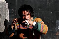 Irse (Memo Vasquez) Tags: portrait face mxico insane retrato cara loco manos mad rostro coyoacn demented locura mxicodf demencia demente irse memovasquez outstandingshots goldenphotographer