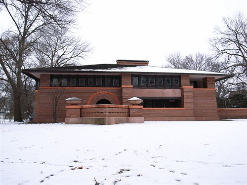 Arthur B. Heurtley House, Ork Park, IL