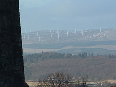 Some wind things in the distance (I left the country) Tags: robert stirling bruce we got far entrace castlethats