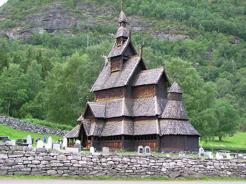 Borgund Stave Church 12th century