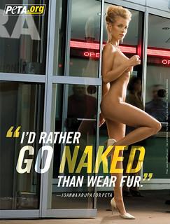 Joanna Krupa PETA