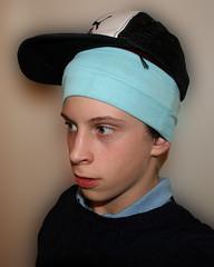 Gang of one (Nad) Tags: portrait hat gang puma yoof radiorental
