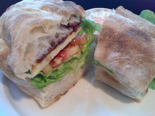 Ploughman Sandwich on ciabatta