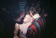 durrrr kissss (theres no way home) Tags: camera girls england london club night hair photography makeout short indie end electro dancefloor mondays disposable durrrr