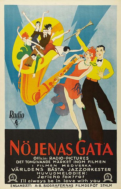 """Syncopation"" movie poster, 1929"