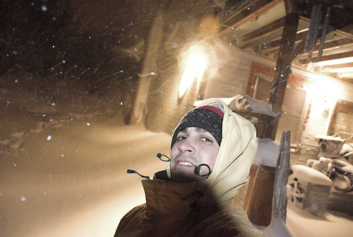me with snow