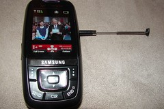 Verizon V Cast Mobile TV Debuts: Letterman