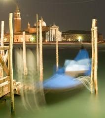 Rocking gondola in Venice (Carlo Ch) Tags: venice gondola venezia colorphotoaward
