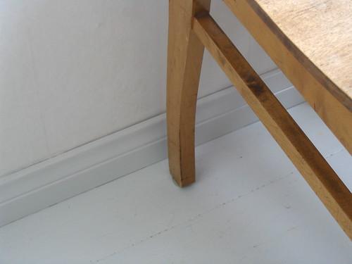 valmis lista lattialla
