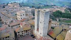 高塔上俯瞰古城景色