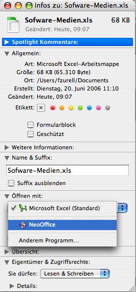 Dateien ändern