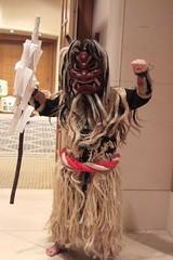 Namahage at the Akita event