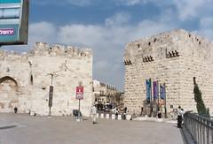 Israel 1 (LeoKoolhoven) Tags: israel puerta gate jerusalem 2006 porta porte tor jeruzalem poort stadttor citygate brana jaffagate boxmachicolation