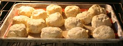 Buttermilk Biscuits Baking