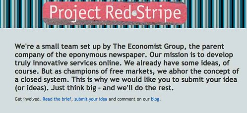 Economist's Project Red Stripe