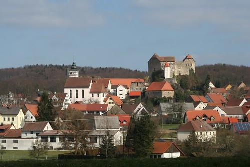 Hiltpoltstein, Burg und Kirche von S