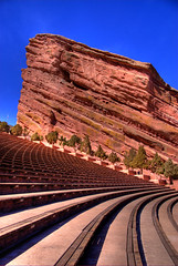 Red Rocks Amphitheatre, Denver, Colorado (Thad Roan - Bridgepix) Tags: red rock concert colorado rocks denver redrocks concerts bleachers morrison venue redrocksamphitheatre 200703