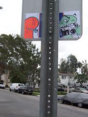 i spy (Question Josh? - SB/DSK) Tags: camera streetart air stickers josh stek abdn abandonview