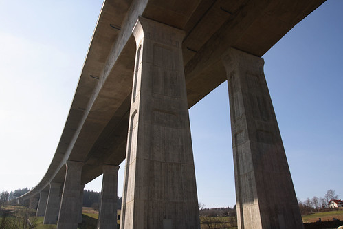 Autobahnbrücke Trockau