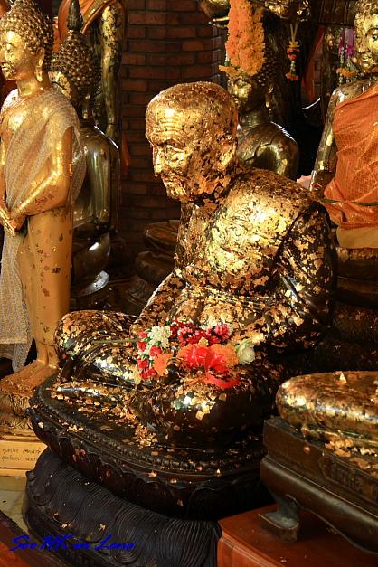 Monk Statue @ Wat Yai Chaimongkol, Ayutthaya Thailand
