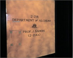 MIT is WoW, Hogwarts (alist) Tags: mit alchemy 02139 sadighi