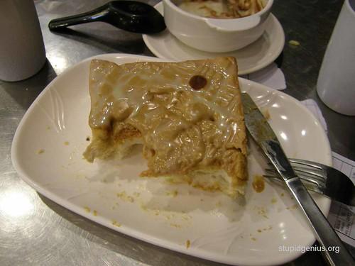 peanut butter+condensed milk toast