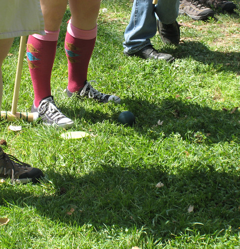 Croquet at Farnsworth Park
