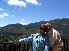 Tia Socorro and Uncle Tony in Manitou Springs, CO. (05/2004)