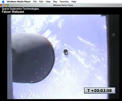 Stage Separation – SpaceX Falcon - by jurvetson