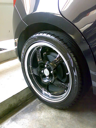Shiny Rims From Miss Loi's Ractis