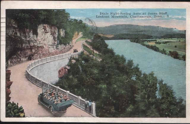 1924 Jonas Bluff post card