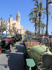 Vintage cars in Sitges (SantiMB.Photos) Tags: barcelona old classic cars vintage antique explore antiguos sitges coches rallye clásicos explored wowiekazowie