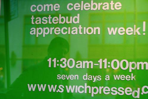 every week is tastebud appreciation week